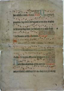 Antiphonaal uit het Karthuizersklooster (1392-1570). Coll. Stadsarchief