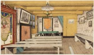 Prent J.M.A. Rieke uit 1898. Collectie Stadsarchief
