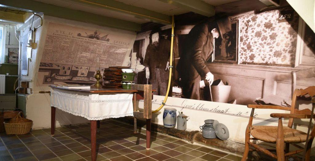 Museumwoning Palmstraat 92A, van okt 2015 - 31 dec 2016. Jordaanmuseum 2016
